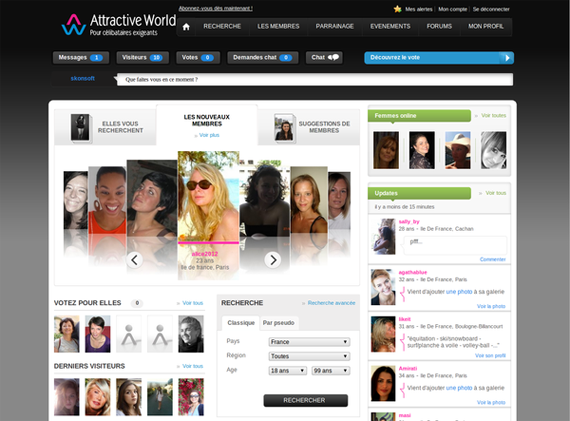 Site rencontre world
