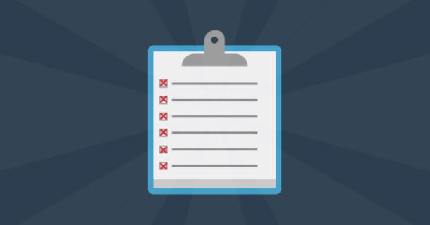 newsletter checklist