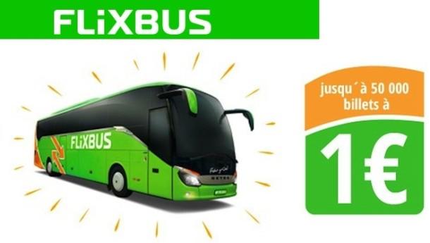 flixbus a un euro seulement