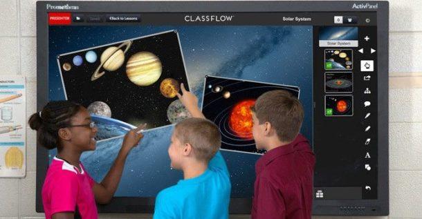 La création de cours facilité avec Classflow Promethean