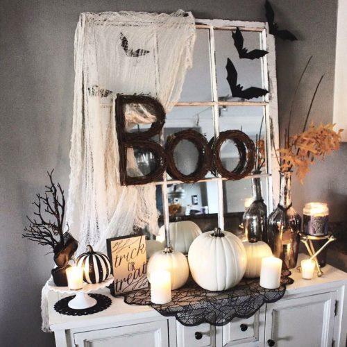 décoration de la fête d'Halloween
