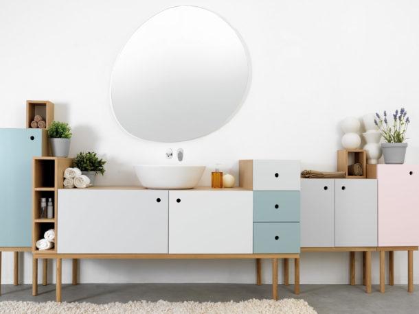 meubles de couleurs design