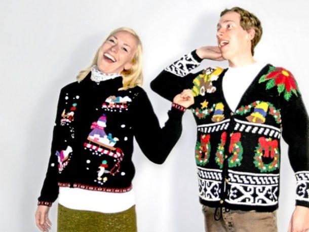 Les pulls de Noël classiques
