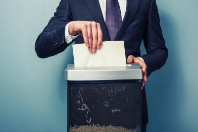 Les critères de choix importants à l'achat d'un destructeur de documents