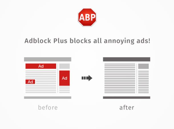 bloqueur de publicité Adblock Plus